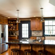 A Custom Kitchen Remodel Brings Modernizes Old Style
