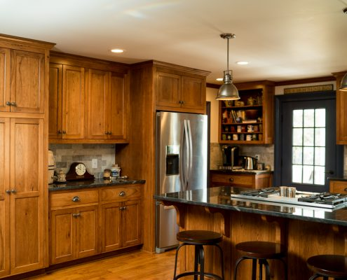 With A Kitchen Remodel, Appliances Are Built In