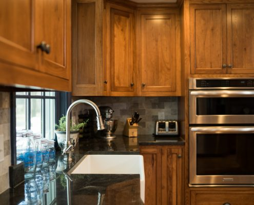 Stone Countertops Look Great In A Kitchen Remodel