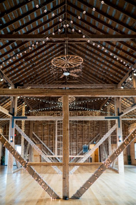 Custom Lighting in Barn