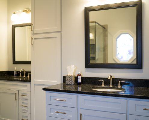 Bathroom Remodel With Custom Vanity