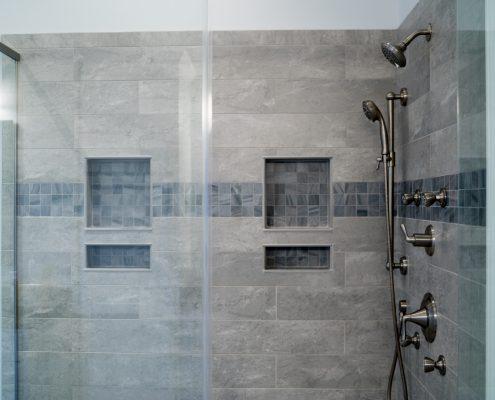 Bathroom Remodel With Custom Tiled Shower