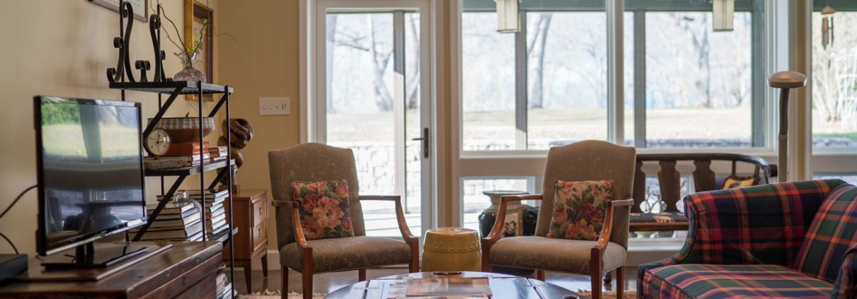With Home Remodeling, This Living Room Feels Larger