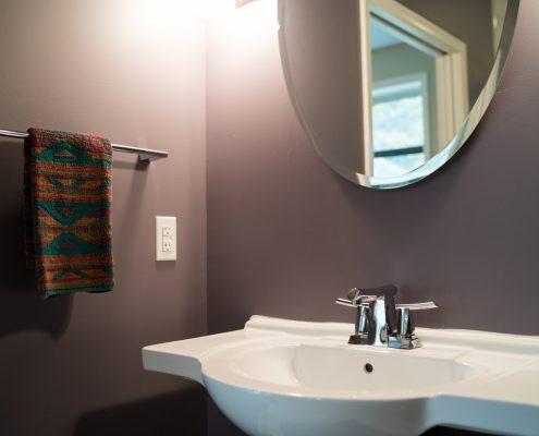 Bathroom Remodel With Custom Sink