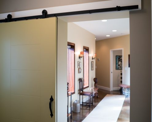 Custom Barn Doors In This Home Remodeling Project