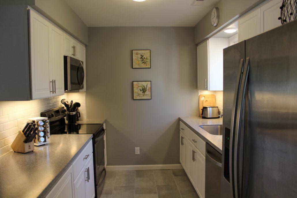 Kitchen Update In Harrisonburg Integrity Custom Builders - Galley style bathroom