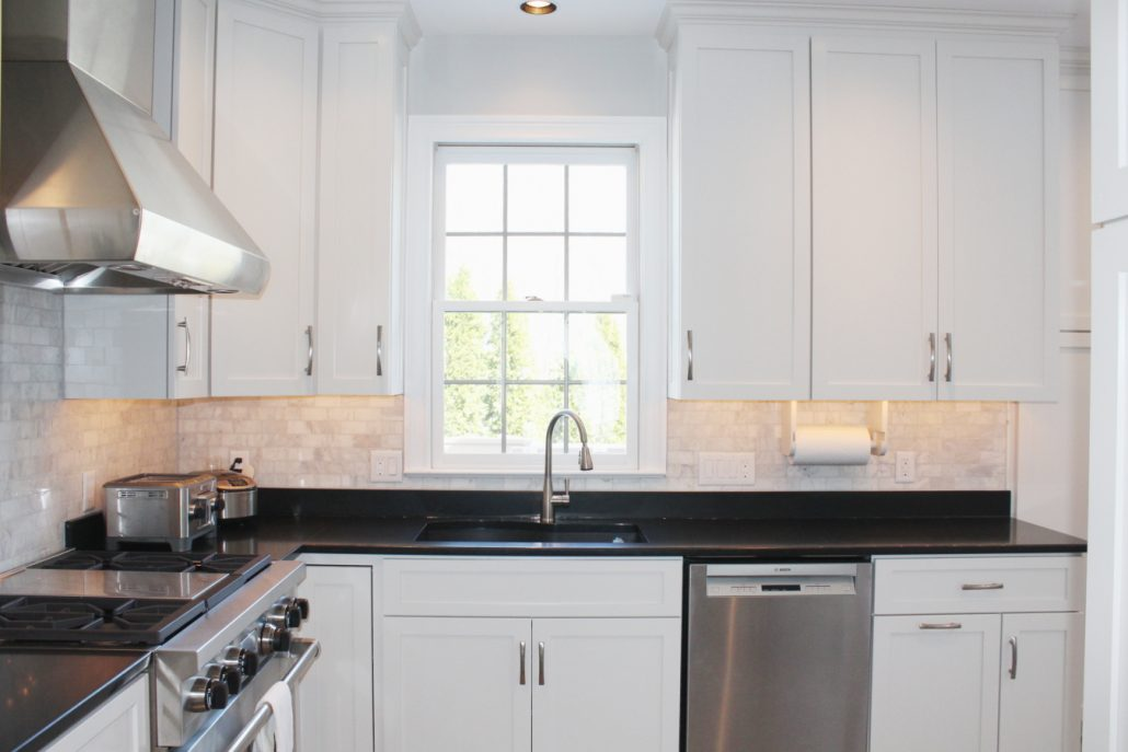 White Kitchen Transformation
