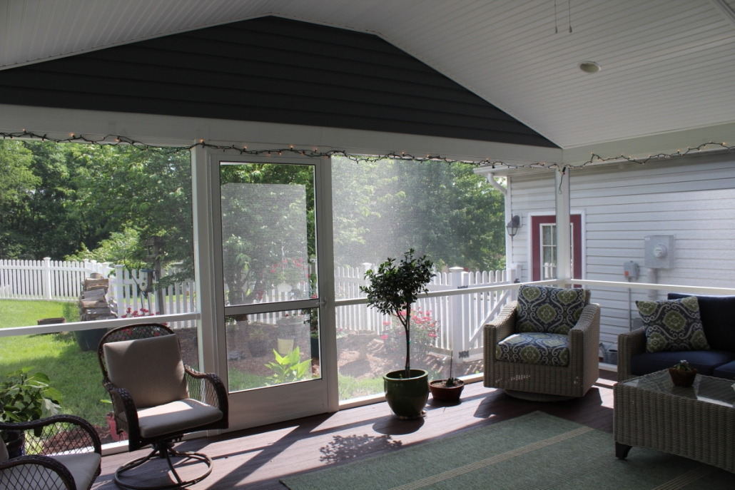Screened In Porch Addition In Harrisonburg Va Integrity Custom